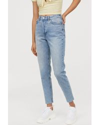 outstanding features limpid in sight price remains stable Slim Mom Jeans - Blue