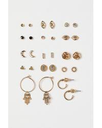 H&M - 14 Pairs Earrings - Lyst
