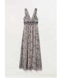 H&M Beaded Maxi Dress