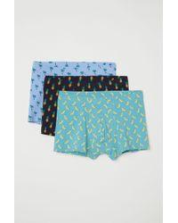 H&M - 3-pack Short Boxer Shorts - Lyst