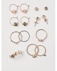 H&M - Jewellery Set - Lyst