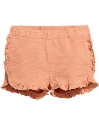 H&M - Frilled Shorts - Lyst