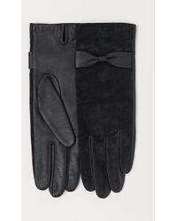 H&M - Suede Gloves - Lyst