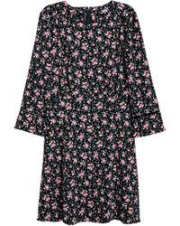 H&M - Kleid aus Kreppstoff - Lyst