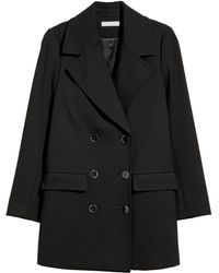 H&M - Double-breasted Coat - Lyst
