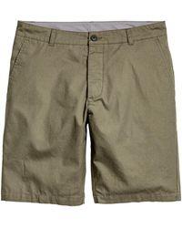 H&M - Short en coton - Lyst