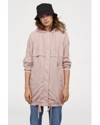 H&M - Hooded Parka - Lyst