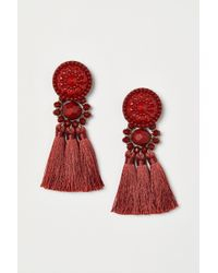 H&M - Tasselled Earrings - Lyst