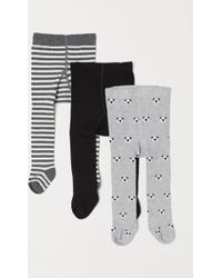 H&M - 3-pack Tights - Lyst