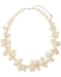 Hobbs - Erin Pearl Necklace - Lyst