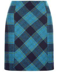 Hobbs - Blue 'hattie' Skirt - Lyst