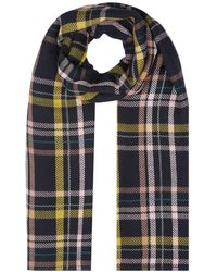 Hobbs - Fiona Check Scarf - Lyst