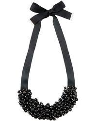 Hobbs - Black 'zara' Necklace - Lyst