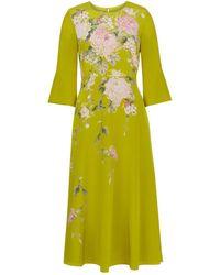 Hobbs - Sadie Silk Dress - Lyst