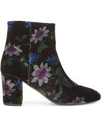Hobbs - Passionflower Velvet Ankle Boot - Lyst