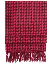 Hobbs - Claudia Check Scarf - Lyst