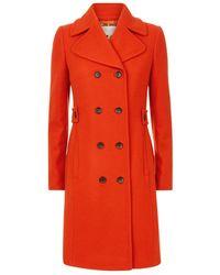 Hobbs - Ginnie Wool Coat - Lyst