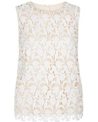 a98af6812529c Lyst - Women s Hobbs Sleeveless and tank tops Online Sale