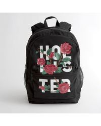 Hollister - Girls Rose Graphic Backpack From Hollister - Lyst