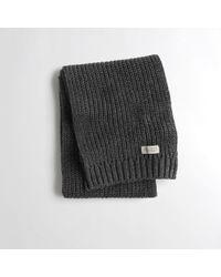 Hollister - Knit Scarf - Lyst