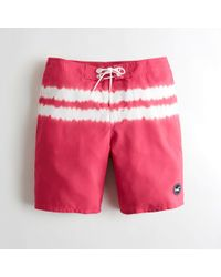 Hollister - Guys Classic Fit Boardshorts From Hollister - Lyst