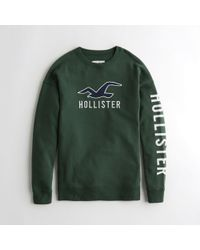Hollister - Girls Oversized Crewneck Hoodie From Hollister - Lyst
