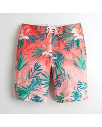 Hollister - Guys Cali Longboard Fit Boardshorts From Hollister - Lyst