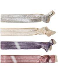 Hollister - Hair Tie Pack - Lyst