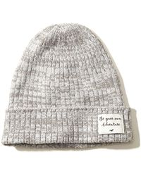 Hollister - Patch Slouchy Beanie - Lyst