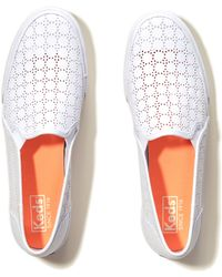 Hollister - Keds Double Decker Perforated Sneaker - Lyst