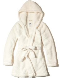 Hollister - Gilly Hicks Sherpa Robe - Lyst