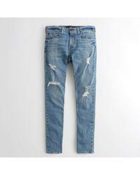 Hollister - Guys Epic Flex Super Skinny Jeans From Hollister - Lyst