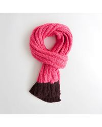 Hollister - Shine Ribbed Scarf - Lyst