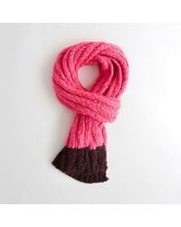 Hollister | Shine Ribbed Scarf | Lyst