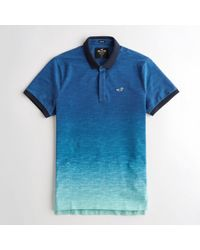 Hollister - Guys Stretch Slim Fit Polo From Hollister - Lyst