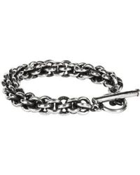 Henson - Small Cage Link Chain Bracelet - Lyst