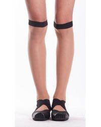 Uma Wang - Socks In Nude & Black - Lyst