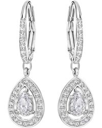 Swarovski - Attract Light Earrings - Lyst