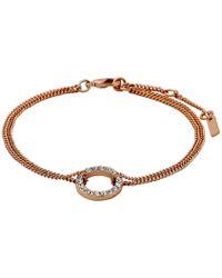 Pilgrim - Rose Gold Beautiful & Simple Bracelet - Lyst