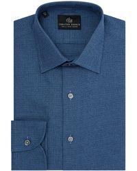 Chester Barrie - Men's Flannel Chevron Shirt - Lyst