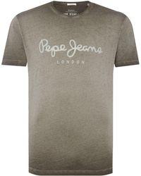 Pepe Jeans - Men's West Sir Ii Short Sleeve T Shirt - Lyst
