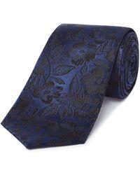 Richard James - Intricate Floral Silk Tie - Lyst