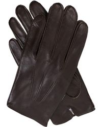 Dents - Mens Leather Gloves With Fleece Lining - Lyst