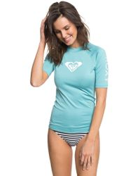 Roxy - Whole Hearted Rash Vest - Lyst
