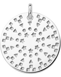 Links of London - Ascot Narrative Silver Large Pendant - Lyst