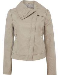 Bernardo - Winged Collar Jacket - Lyst
