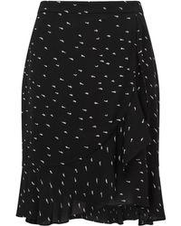 Jigsaw - Mini Dash Wrap Skirt - Lyst