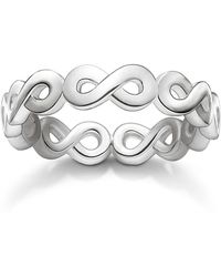 Thomas Sabo | Glam & Soul Silver Infinity All Around Ring | Lyst