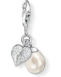Thomas Sabo - Charm Club Winged Heart With Pearl - Lyst