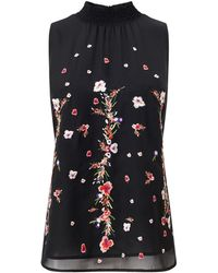 Precis Petite - Petite Embroidered Swing Top - Lyst